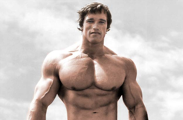 Masa mięśniowa – trening Arnolda Schwarzeneggera