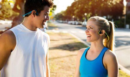 sportowe słuchawki Aftershokz