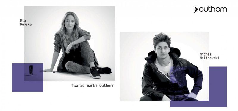 Postaw na styl athleisure tak jak Ula Dębska i Michał Malinowski – nowe twarze marki Outhorn