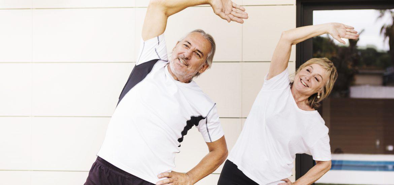 Gimnastyka dla seniora – trening ogólnorozwojowy