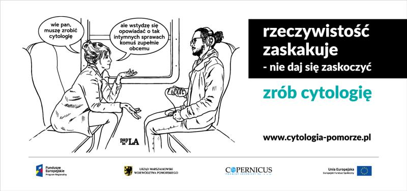 banner kampania zrób cytologię