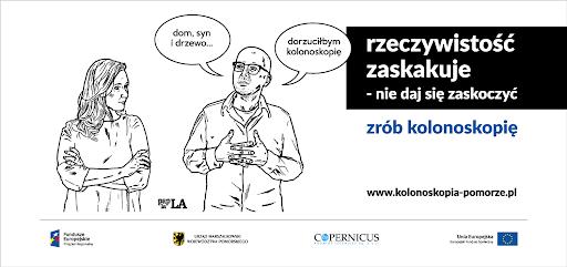 banner kampania zrób kolonoskopię