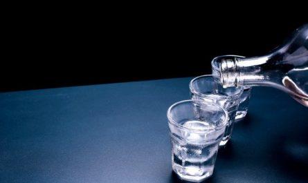 kieliszki z wodka