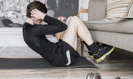 trening brzucha w domu