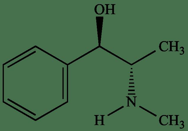 budowa chemiczna efedryny