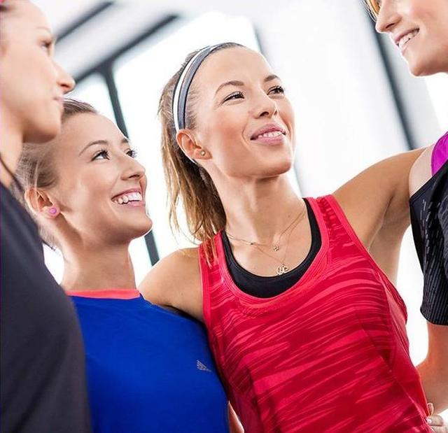 ewa chodakowska na treningu z kobietami