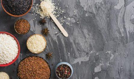 weglowodany w roznych rodzajach ryzu