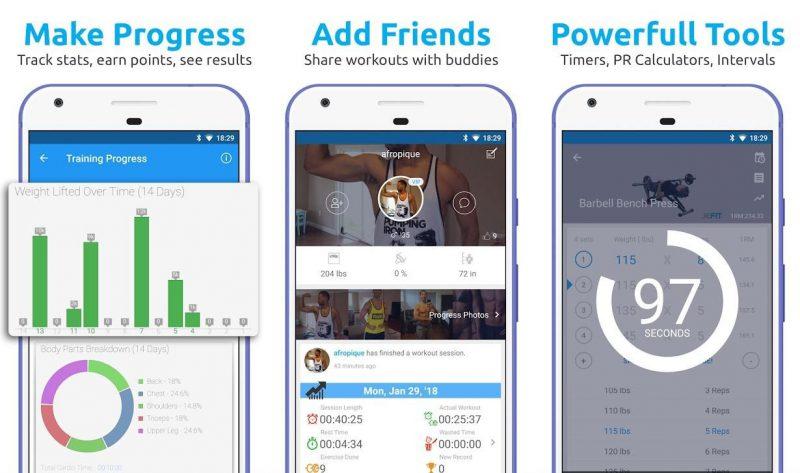 aplikacja jefit