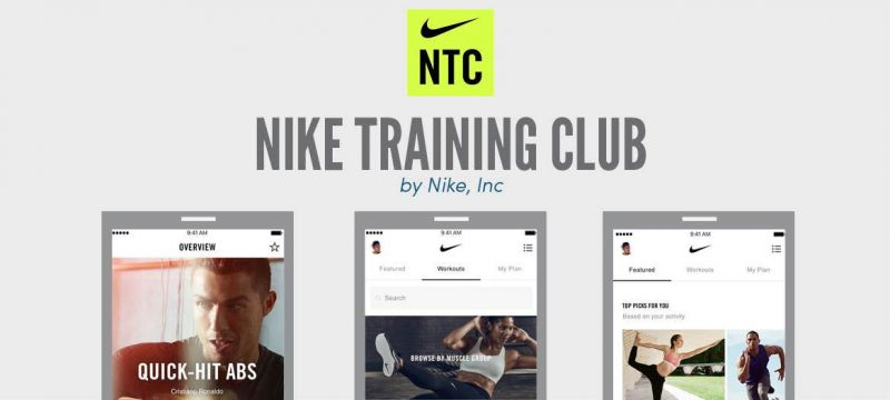 nike training club aplikacja