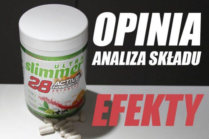 Ultra Slimmer 28 – OPINIA, czy spala tłuszcz?