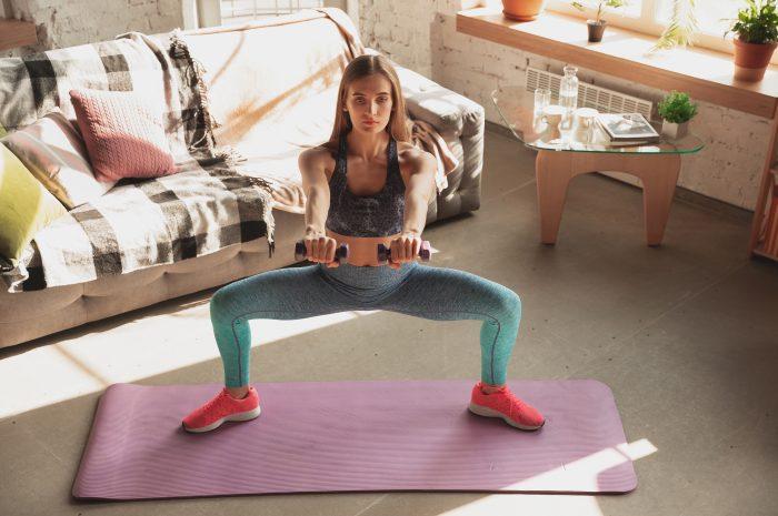 Trening nóg w domu – 7 przykładowych ćwiczeń